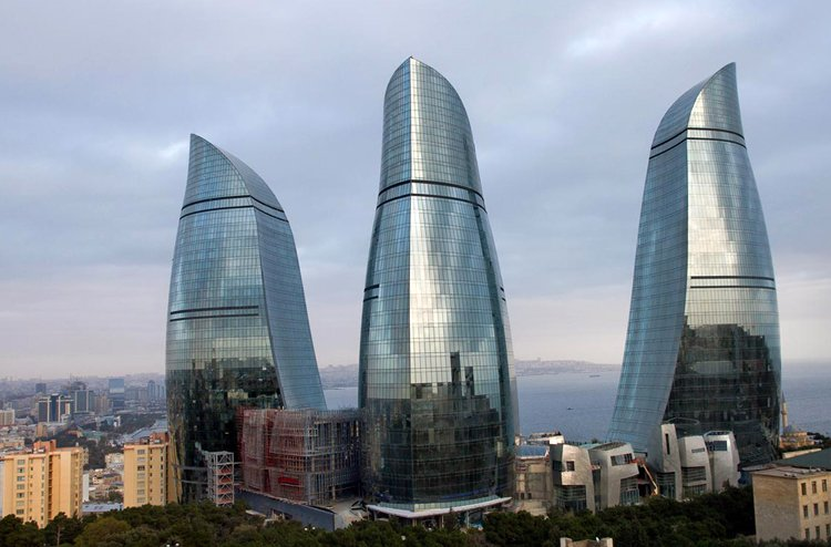Flame Towers в Баку